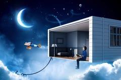 Осуществите ваши мечты дизайна Мультимедиа Стоковые Фото