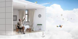 Осуществите ваши мечты дизайна Мультимедиа Стоковая Фотография