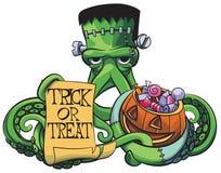 Осьминог Frankenstein Стоковые Фото