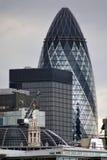 Ось St Mary города 30 Лондона Стоковая Фотография RF