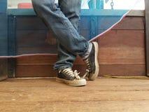 Ослабьте ботинки Стоковые Фотографии RF