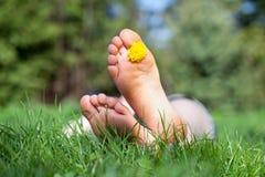 Ослабьте в саде, f Стоковая Фотография RF