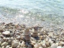 Ослабьте и море Стоковые Изображения