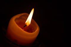 Ослабьте с свечой Стоковые Фото