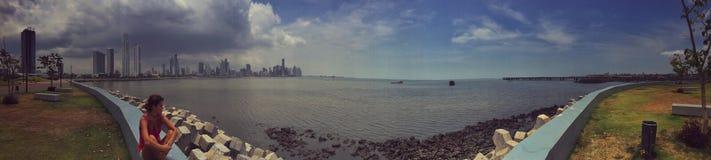Ослаблять в Панама (город) Стоковые Изображения RF