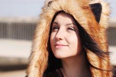 ослаблять красивейшей девушки напольный Стоковые Фото