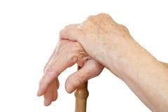Ослабляя рука Стоковые Фото