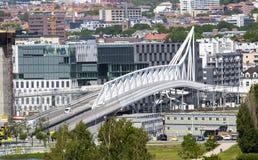 Осло, городской, Bjoervia Норвегия Стоковое фото RF