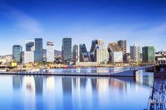 Осло, городской, Bjoervia Норвегия Стоковая Фотография RF