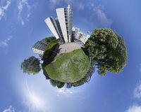 Осло - меньшая планета Норвегия Стоковая Фотография