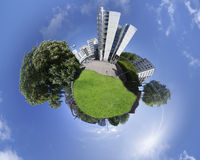 Осло - меньшая планета Норвегия Стоковые Изображения RF
