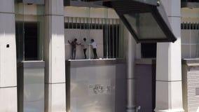 Отава 07 взрыва Ratchaprasong, Бангкок, Таиланд сток-видео