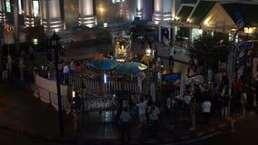 Отава 08 взрыва Ratchaprasong, Бангкок, Таиланд акции видеоматериалы