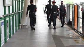 Отава 15 взрыва Ratchaprasong, Бангкок, Таиланд акции видеоматериалы