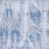 Отбеленная голубая текстура ткани Джина Стоковые Фото