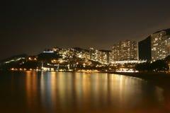 отбитие Hong Kong залива Стоковые Фотографии RF