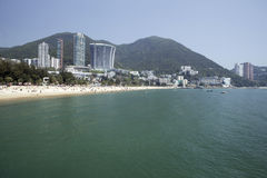 отбитие Hong Kong залива Стоковая Фотография RF