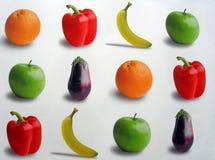 отборный плодоовощ Стоковое фото RF