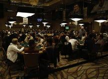 Отборочные матчи чемпионата мира покера (WSOP) на Рио Стоковые Изображения