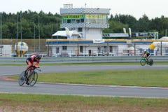 Отборочные матчи чемпионата мира UCI Gran Fondo Стоковые Изображения RF