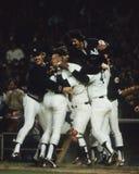 1978 отборочных матчей чемпионата мира чемпиона, янки Нью-Йорка Стоковые Фотографии RF