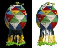 Отбортованное яичко страуса стоковое изображение