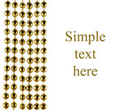 отбортовывает гениальный праздничный цвет золотистый иллюстрация вектора