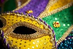 отбортовывает маску mardi gras Стоковая Фотография