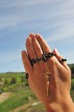 отбортовывает молитву Стоковые Фото