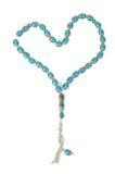 отбортовывает мусульманский rosary Стоковые Фотографии RF