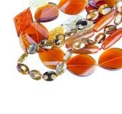 отбортовывает различный желтый цвет камня минералов Стоковое Изображение