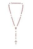 отбортовывает rosary Стоковые Изображения