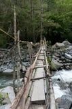 Отбрасывая мост Стоковая Фотография RF