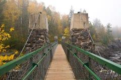 Отбрасывая мост Стоковые Изображения