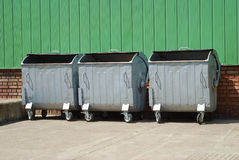 отброс контейнера Стоковое фото RF