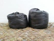 отброс мешков черный Стоковые Изображения