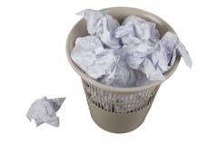 отброс пыли корзины стоковые изображения rf