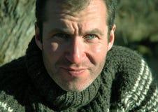 отважный портрет человека Стоковые Фотографии RF