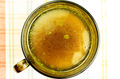Отвар, бульон, ясный суп Стоковое фото RF