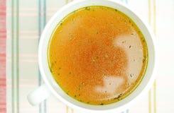 Отвар, бульон, ясный суп Стоковое Изображение