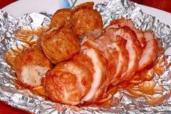 Отвар цыпленка и отвар цыпленка очень очень вкусный Стоковое фото RF