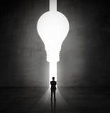 Отверстие в лампе формы Стоковое Фото