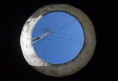 Отверстие в потолке бункера Стоковые Изображения