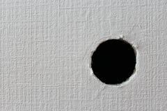 Отверстие в стене Стоковые Изображения RF