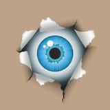 отверстие глаза Стоковое Фото