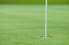 Отверстие гольфа стоковое фото
