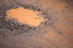 Отверстие грязи Стоковое фото RF