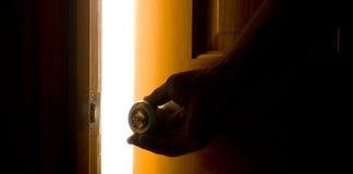 отверстие двери Стоковое фото RF