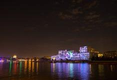 Отверстие круга фестиваля света 2015 Стоковые Фотографии RF