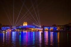 Отверстие круга фестиваля света Стоковое фото RF